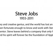 Apple Remembers Steve Jobs…With A Sticky Note.